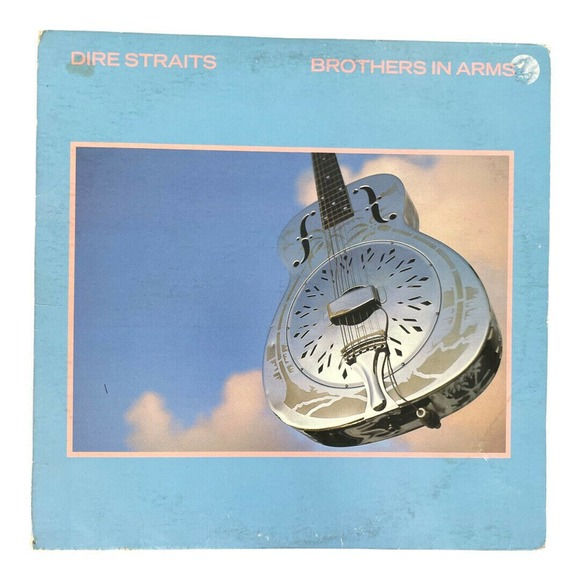 DIRE STRAITS LP Brothers in Arms 1985 Warner Brothers mark knopfler vinyl